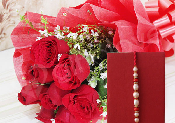 Rakhi With Flowers – Bringing a Unique Touch of Love & Beauty in Brother-Sister Bond