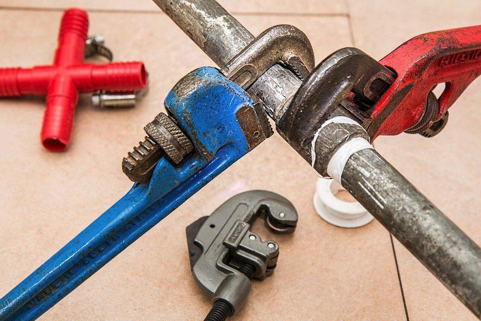 Plumbing, Pipe, Wrench, Plumber, Repair, Maintenance